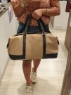 Lycke Medium Reisebag/Weekendbag, beige thumbnail