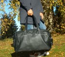 House of Janic Carlo Reisebag/Weekendbag.                Fri Frakt! thumbnail