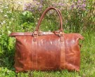 House of Nordic Reisebag/Weekendbag, cognac thumbnail