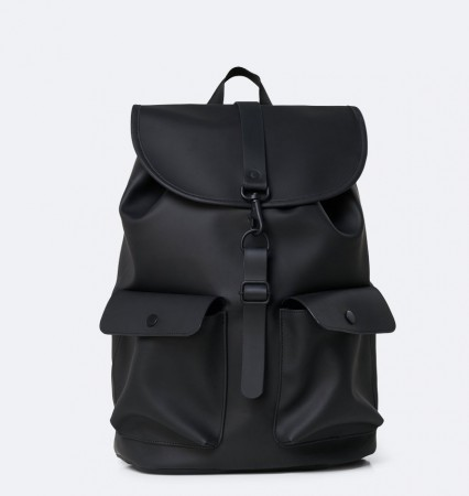 Rains Camp Backpack, Black