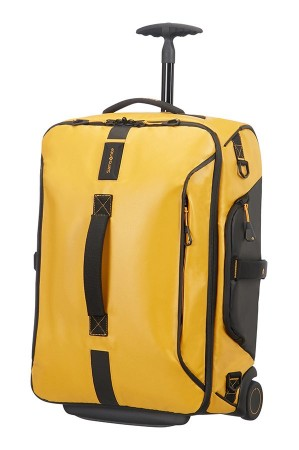 Samsonite Paradiver Light Duffle on Wheels 55cm Backpack Yellow