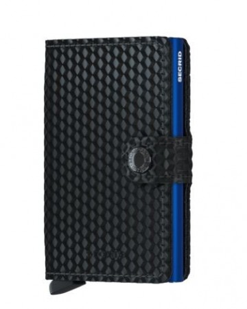 Secrid Miniwallet, Cubic Black Blue