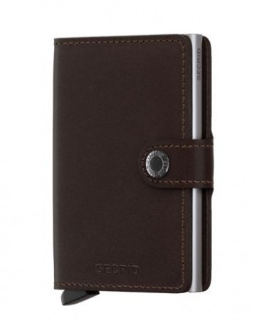 Secrid Miniwallet, Dark Brown