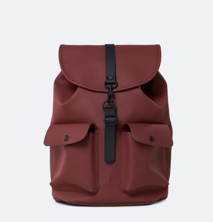 Rains Camp Backpack, Maroon