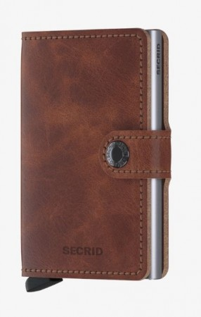 Secrid Miniwallet, Brown Vintage