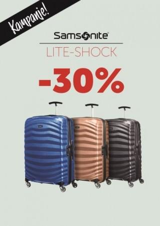 Samsonite Lite-Shock Kampanje