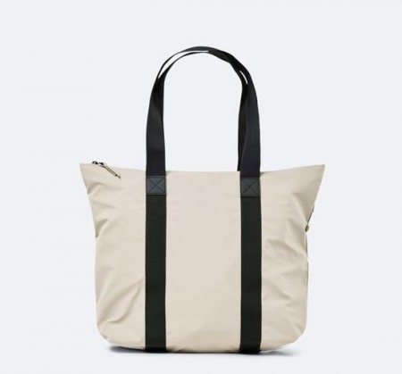 Rains Tote Bag Rush, Beige