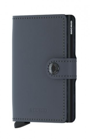 Secrid Miniwallet, Matte Grey-Black