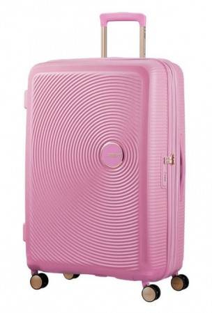 American Tourister Soundbox 77 cm, Pearl Pink/Gold