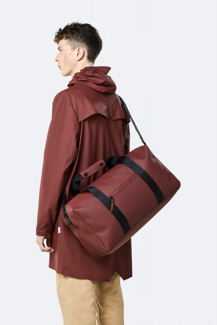 Rains Weekend Bag,Maroon