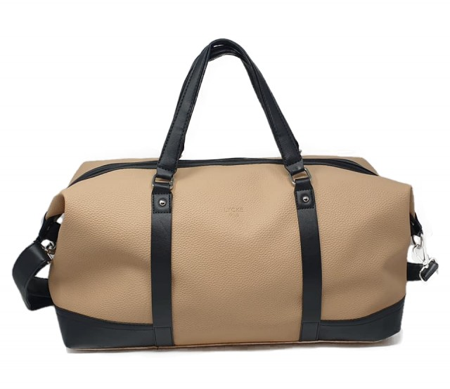 Lycke Medium Reisebag/Weekendbag, beige