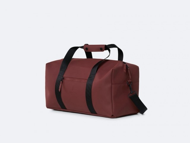 Rains Weekend Bag,Maroon (side)