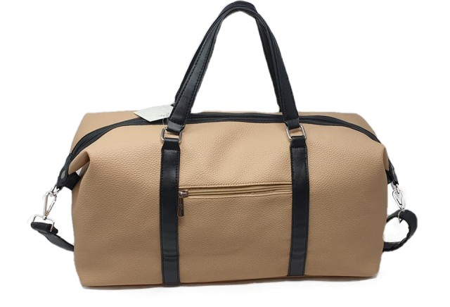 Lycke Medium Reisebag/Weekendbag, beige (bak side)