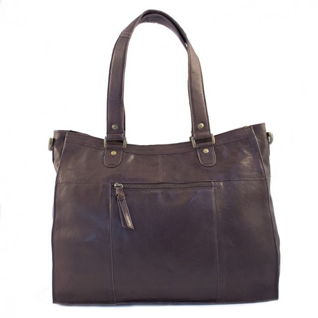 Dixie Flott Veske/Bag Dark brown