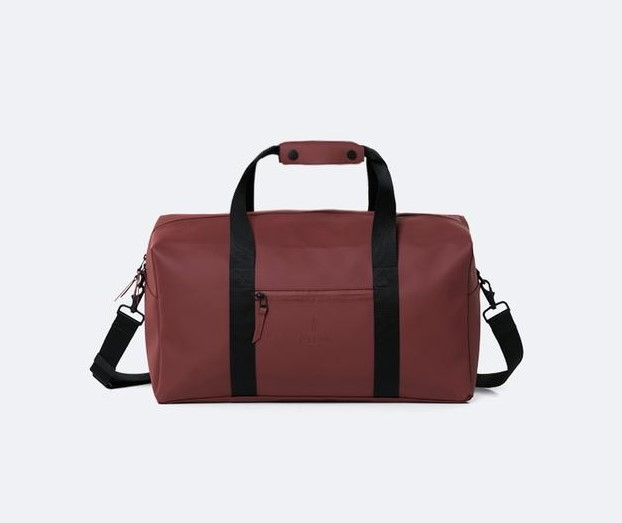 Rains Weekend Bag,Maroon (front)
