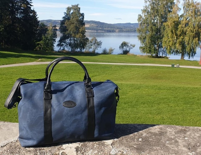 Lycke Medium Bag/Reise Bag, navy farge