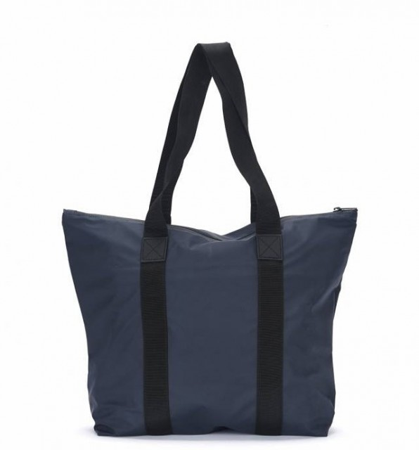 Rains Tote Bag Rush, Blue, front