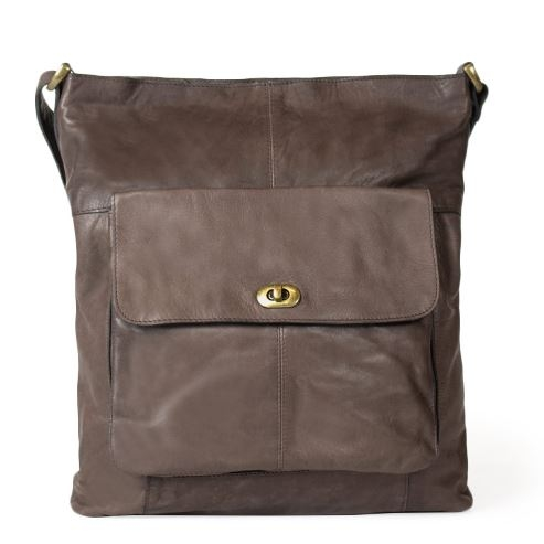 Dixie Skulderveske 1656 darkbrown